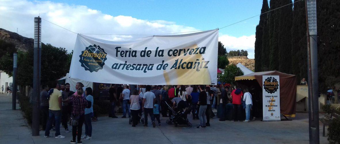 FERIA DE LA CERVEZA ARTESANA ALCAÑIZ BIRRANIZ